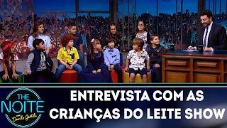 Baixar Entrevista com Crianças do Leite Show | The Noite (11/10/18)