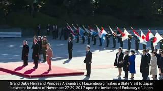 Duke Henri's and Princess Alexandra's state visit to Japan