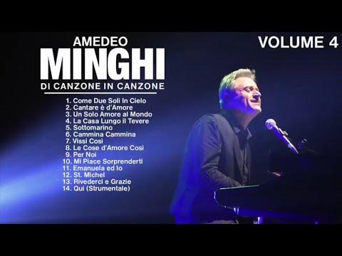 Amedeo Minghi - Di canzone in canzone (live collection cd 4) Il meglio della musica Italiana