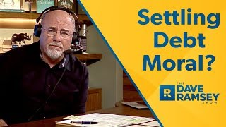 Is It Moral To Settle a Debt?