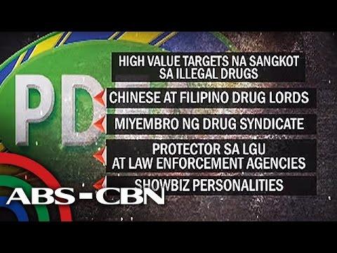 Bandila: PDEA listing known drug lords