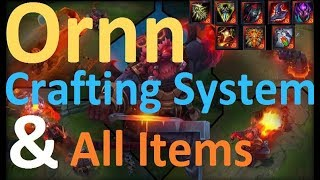 All Ornn Master Crafted Items + Forging Passive