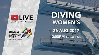 Download Video Aquatics Diving: Women's 3m Springboard Final | 29th SEA Games 2017 MP3 3GP MP4