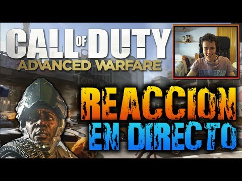 Call Of Duty Advanced Warfare Trailer - Reacción En Directo, Análisis y Opinión! - TheGrefg