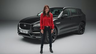 Jaguar F-PACE | Unwrapped with Ginny Buckley