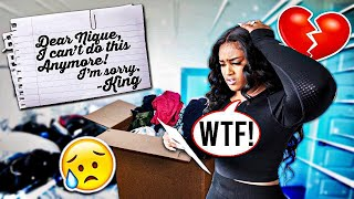 LEAVING MY GIRLFRIEND WITH ONLY A GOODBYE LETTER!!!💔