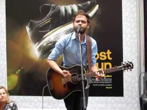 Passenger - The Wrong Direction (Busking in Sydney 6/4/13)