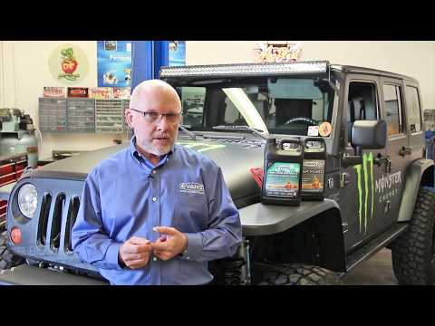 Watch this 2007 Monster Energy Jeep conversion to Evans Waterless Coolant