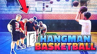 HANG-MAN 3 POINT SHOOTING  CHALLENGE ft. 2HYPE (play along)