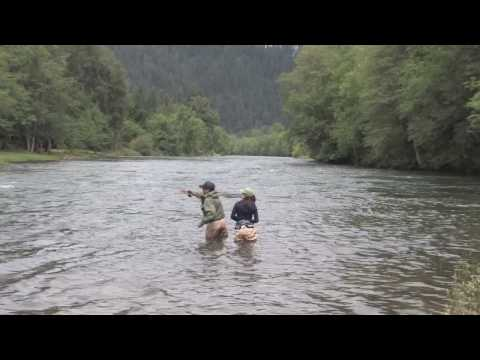 Fly-Fishing on the McKenzie River and Willamette River