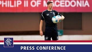 PRESS CONFERENCE | Steven Gerrard | 16 Jul 2018