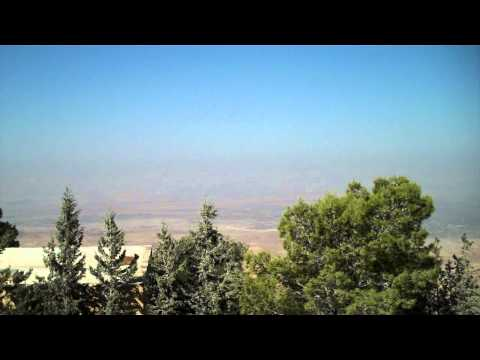 What Moses Saw - The View from Mt. Nebo