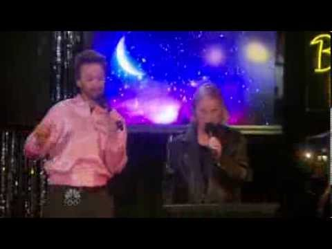"""Leslie and Jamm Sing Grease's """"Summer Nights"""""""