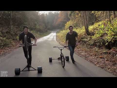 Drift Trike Cesis TM (Full video)