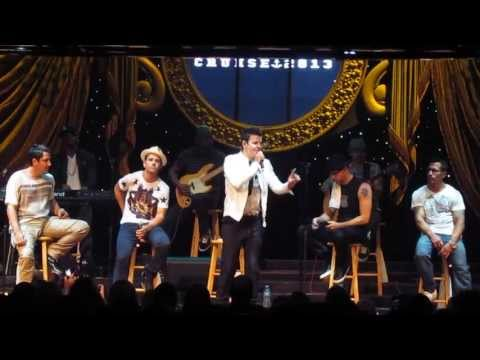 Unplugged Concert New Kids On The Block If You Go Away Please Don't Go Girl Single NKOTB Cruise 2013
