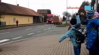Troubení z kamionu