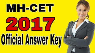 Mh cet answer key 2017 | Download Here Free