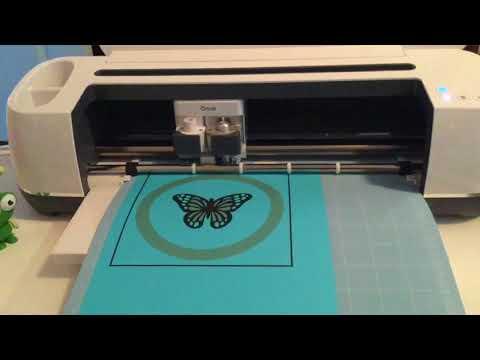 Cricut Maker...Print Then Cut On Coloured Paper