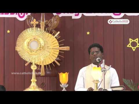 Adoration by (Rev.Fr.Lua Thomas & Rev.Fr.Antony Vazhakootatil - VC) @ Arulalayam, Chennai, 24-02-17