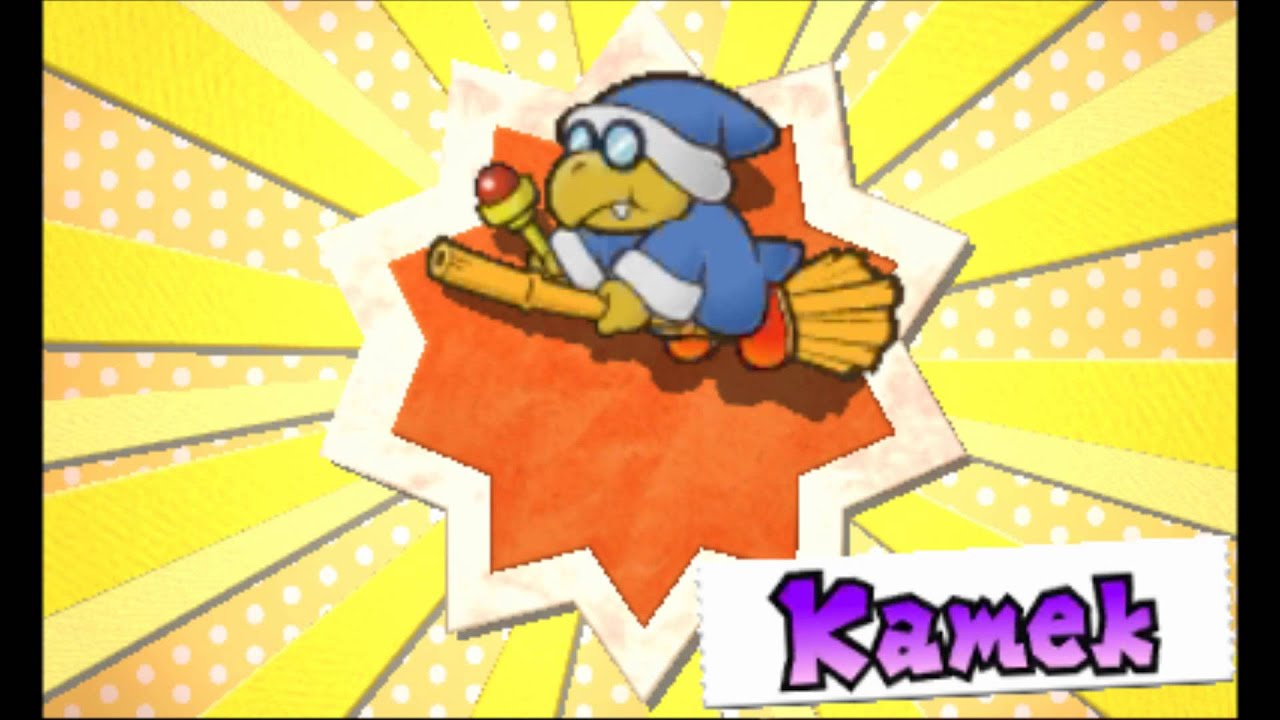 paper mario sticker star music kameks theme youtube