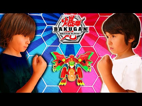 DANI Y EVAN Contra La DIMENSION OSCURA En La Batalla BAKUGAN BATTLE PLANET