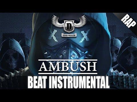 Dark Deep Piano Gangsta Underground Rap INSTRUMENTAL - Ambush