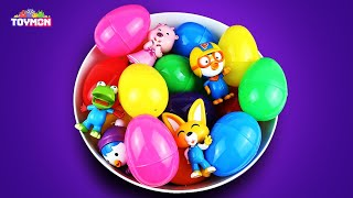 Gambar cover Learn colors with various surprise eggs for kids. | nursery rhymes | TOYMON