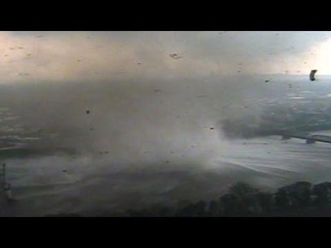 Tornado in Springfield, Massachusetts: Unbelieveable Video Reveals Destruction in Downtown