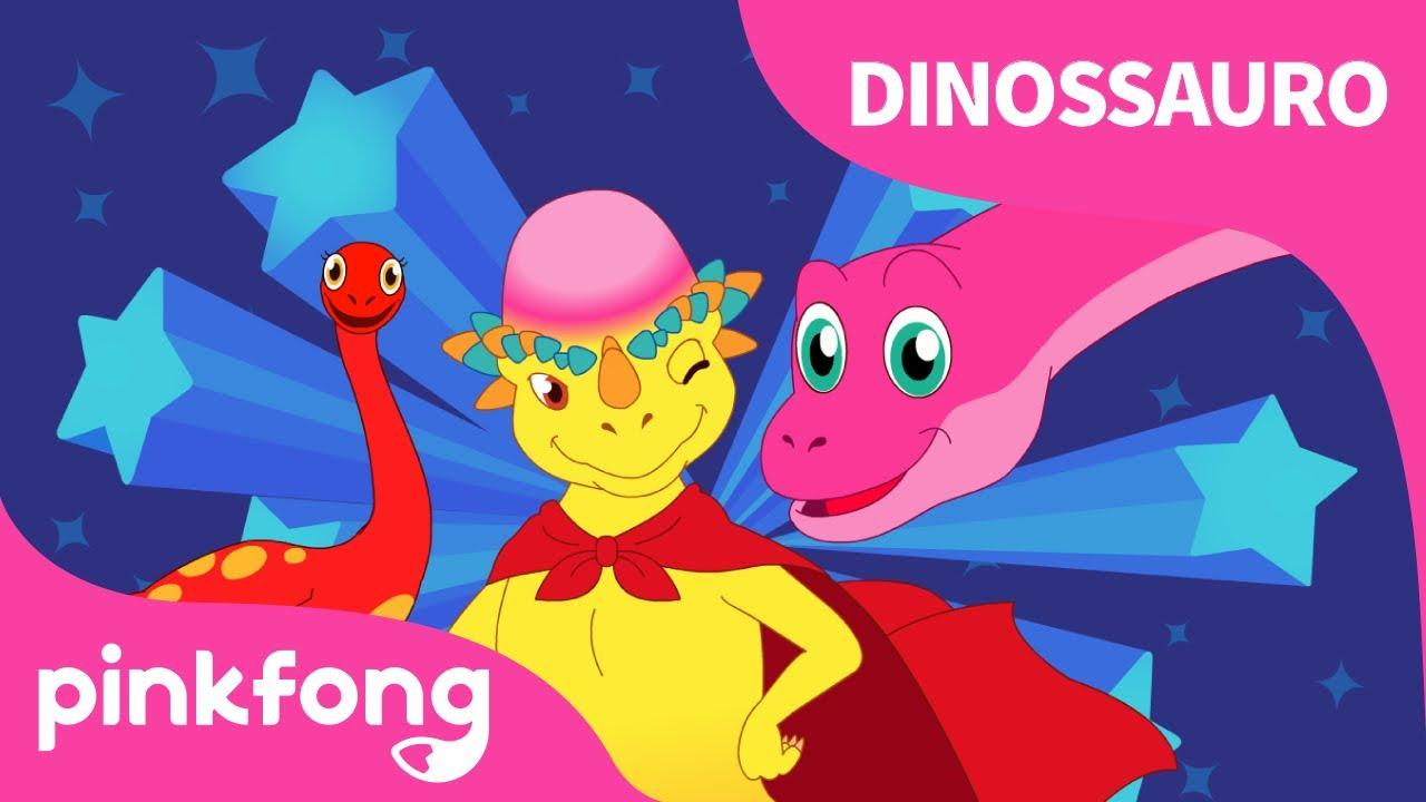 Eu Sou o Melhor | Canções de Dinossauro | Pinkfong Canções para crianças