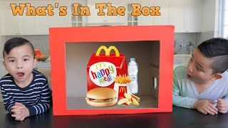 What's In The Box Challenge!!! CKN