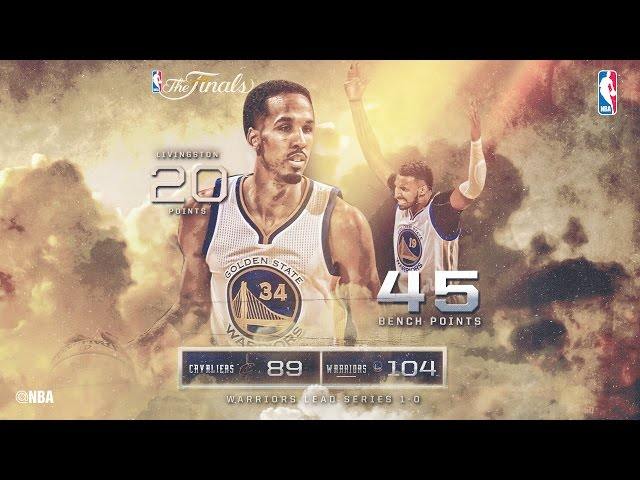 Cavaliers vs Warriors: Partido 1 de la final