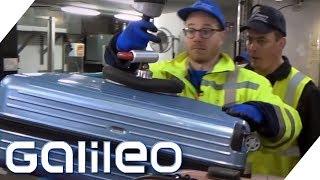 Selbstversuch: Am Flughafen als Gepäckabfertiger | Galileo | ProSieben