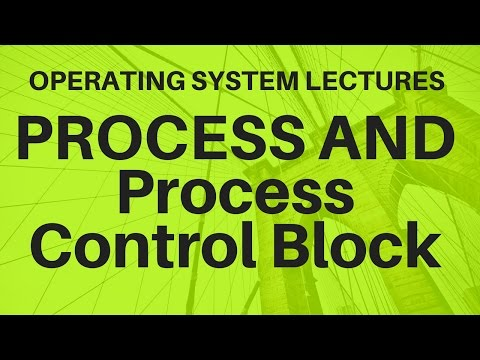 Video 7:-Process Management Introduction and Process Control Block PCB