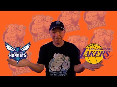 Los Angeles Lakers vs Charlotte Hornets 3/18/21 Free NBA Pick and Prediction NBA Betting Tips