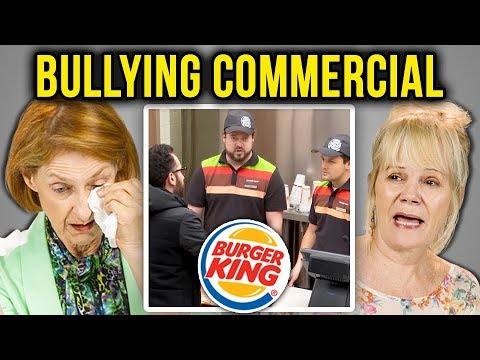 ELDERS REACT TO BULLYING (Burger King | Bullying Jr.)