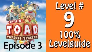 Captain Toad Treasure Tracker - 100% Guide - Level 9 - Lorenfahrt durch den Modertempel