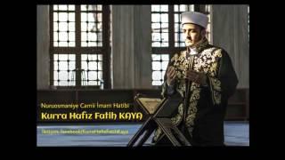 CENNETTEN GELEN EN GÜZEL SES (Fatih Kaya - Ayetel Kürsi)