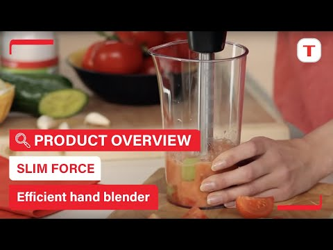 Slim Force: Highly Ergonomic And Efficient Hand Blender, By Tefal
