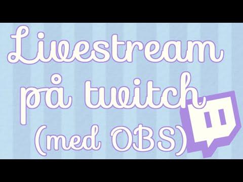 Sådan livestreamer du på Twitch (TrendniqTips #1)
