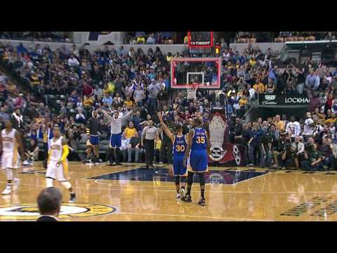 Stephen Curry Hits the 75-Footer Just a...