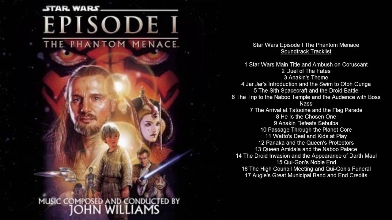 Three Nice Things: Star Wars: Episode I: The Phantom ... |Star Wars Phantom Menace Youtube