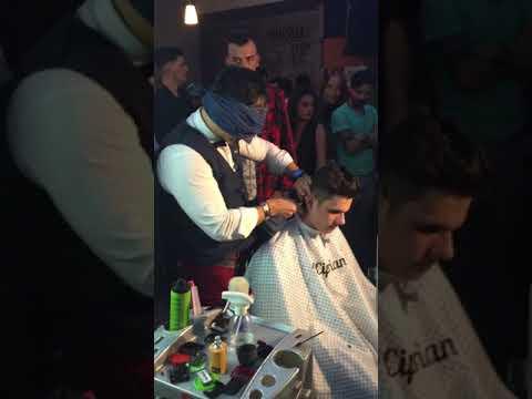 Blind haircut Show  By Ciprian Ungureanu #moreartthanhaircut