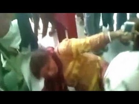 Hindu Dal Workers Beat two women over alleged beef Trafficking - ANI News