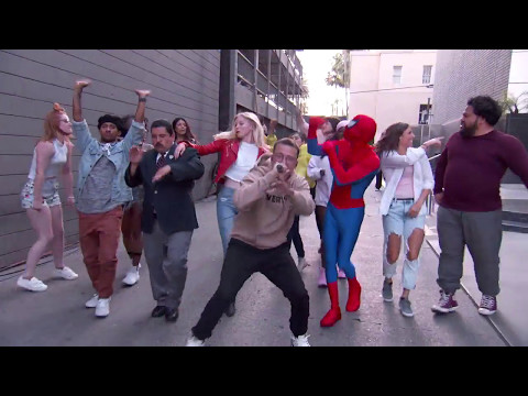 Logic - Black SpiderMan (Jimmy Kimmel Live Performance)