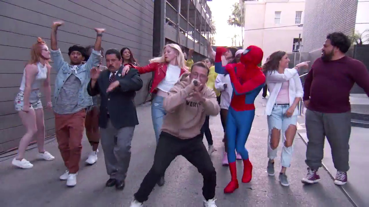 Logic - Black SpiderMan (Jimmy Kimmel Live Performance)