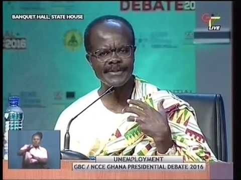 GBC NCCE Ghana Presidential Debate - Joy News (30-11-16) Part B