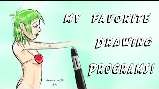 My Favorite Drawing Programs