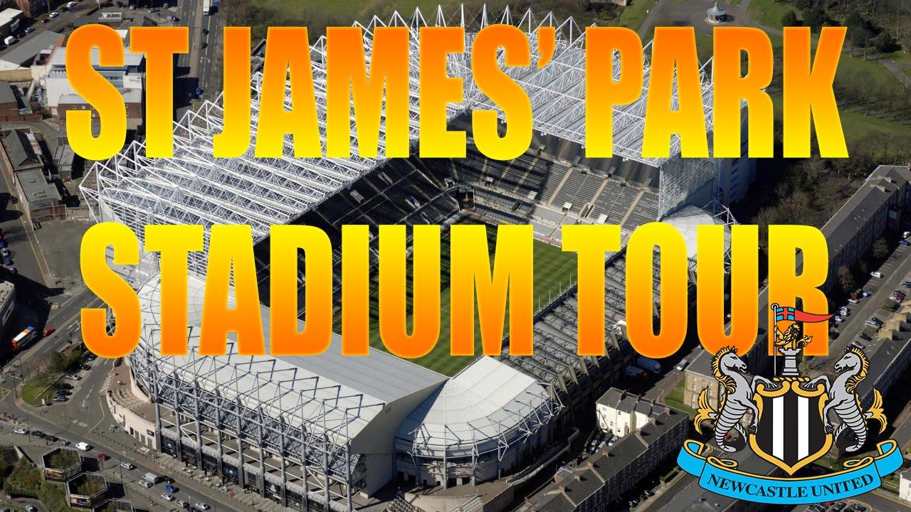 ST JAMES PARK STADIUM TOUR NEWCASTLE UNITED YouTube