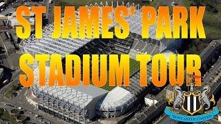 ST JAMES39; PARK STADIUM TOUR NEWCASTLE UNITED