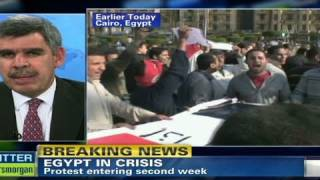 CNN: Egypt protests threaten global economy